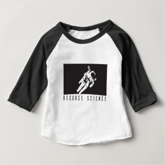 becausescience baby t-shirt