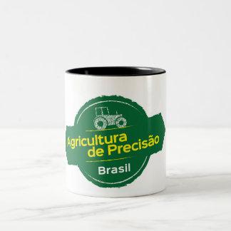 Becher Ap Brasilien Zweifarbige Tasse