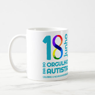 Becher Autistischer Stolz Tasse