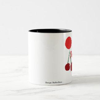 Becher Cherry Pop Zweifarbige Tasse