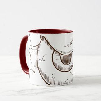 Becher Combo Monster Auge des Flügels Tasse