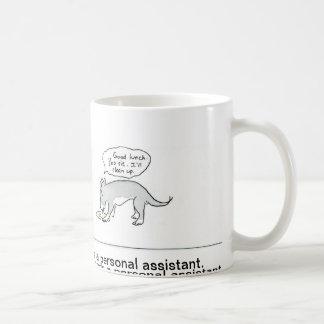 Becher des persönlichen Assistenten Kaffeetasse