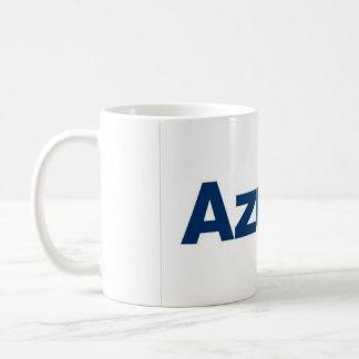 Becher fliegt Blau Kaffeetasse
