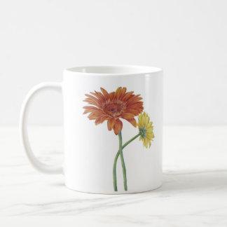 """Becher """"Gerbera""""/Mug """"Daisy"""" Kaffeetasse"""