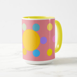 """Becher großes Modell 2 Farben, Rose, """"Blume Tasse"""