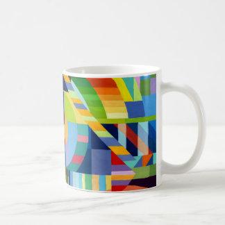 Becher Malerei mit Wasserfarben Kaffeetasse