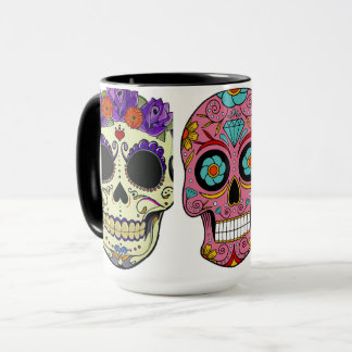 becher mexikanische färbt Totenköpfe Tasse