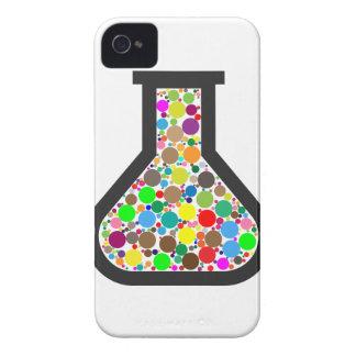 Becher mit Regenbogen-Chemikalien Case-Mate iPhone 4 Hülle