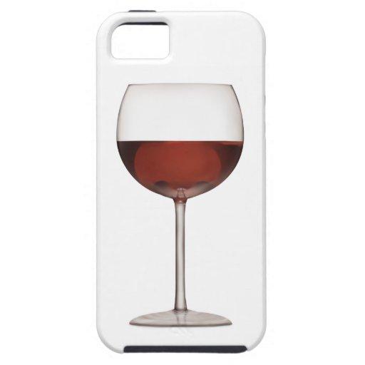 Becher Rotwein-Kunst - iPhone 5 Fall iPhone 5 Schutzhülle