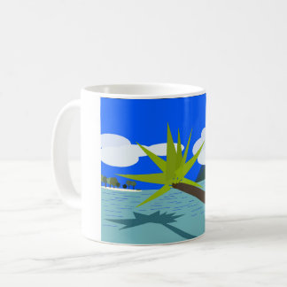 Becher Strand Tag Kaffeetasse
