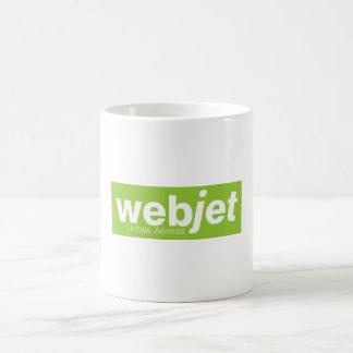 Becher WebJet Fluggesellschaften Kaffeetasse
