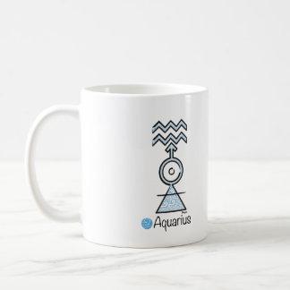 Becher Zeichen des Aquariums Kaffeetasse