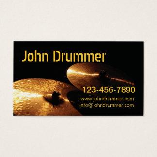 Becken, John-Schlagzeuger, Visitenkarte