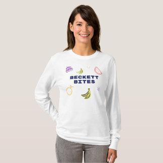 Beckett beißt Logo-lange Hülse T-Shirt