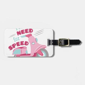 Bedarf an der Geschwindigkeit Gepäckanhänger