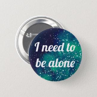Bedarf, kundengerechte Galaxie-Identität allein zu Runder Button 5,1 Cm