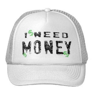 Bedarfs-Geld-Hut Baseballmützen