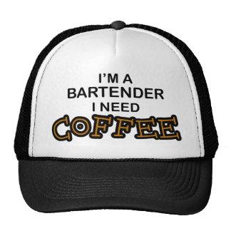 Bedarfs-Kaffee - Barkeeper Baseballcaps