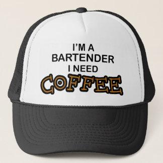 Bedarfs-Kaffee - Barkeeper Truckerkappe