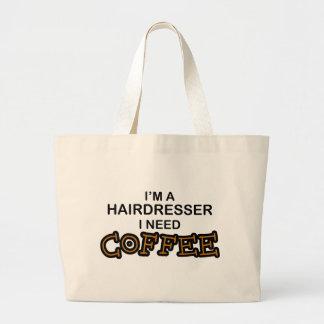 Bedarfs-Kaffee - Friseur Jumbo Stoffbeutel