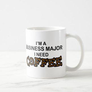 Bedarfs-Kaffee - Geschäfts-Major Kaffeetasse