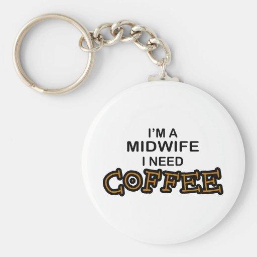 Bedarfs-Kaffee - Hebamme Schlüsselanhänger