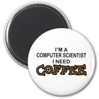 Bedarfs-Kaffee - Informatiker Magnets