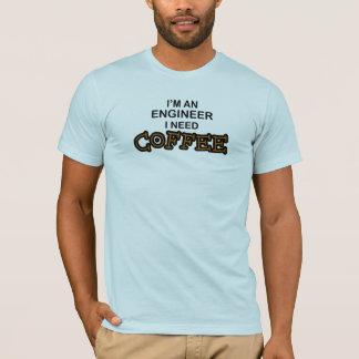 Bedarfs-Kaffee - Ingenieur T-Shirt