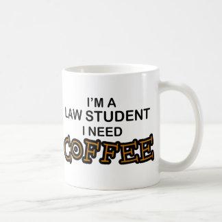 Bedarfs-Kaffee - Jurastudent Kaffeetasse