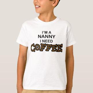 Bedarfs-Kaffee - Kindermädchen T-Shirt
