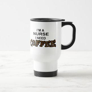 Bedarfs-Kaffee - Krankenschwester Reisebecher