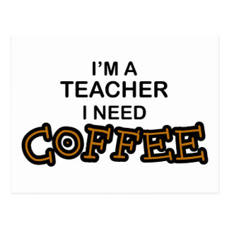 Bedarfs-Kaffee - Lehrer Postkarten