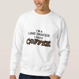 Bedarfs-Kaffee - Linie Tänzer Sweatshirt