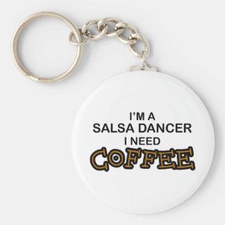 Bedarfs-Kaffee - Salsa-Tänzer Schlüsselanhänger