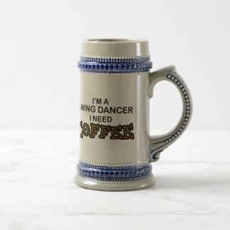 Bedarfs-Kaffee - Schwingen-Tänzer Bierglas