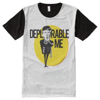 Bedauernswert ich -- Anti-Trumpf 2016 T-Shirt Mit Bedruckbarer Vorderseite