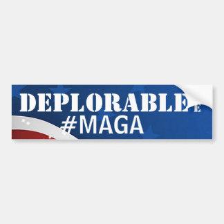 Bedauernswert mache ich #MAGA/Amerika groß wieder Autoaufkleber