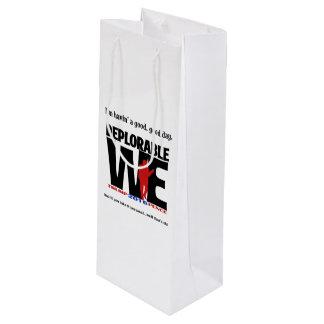 Bedauernswert wine wir Tasche Geschenktüte Für Weinflaschen
