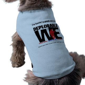 Bedauernswert wir Haustiere auch! Ärmelfreies Hunde-Shirt