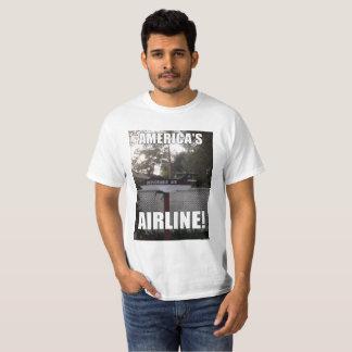 Bedauernswerte Luft-Amerikas Fluglinie T-Shirt