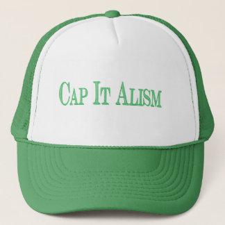 BEDECKEN Sie ES Alism Kappe mit einer Kappe
