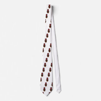 Bedecken Sie und brennende Glühlampe auf Ihrem coo Individuelle Krawatten