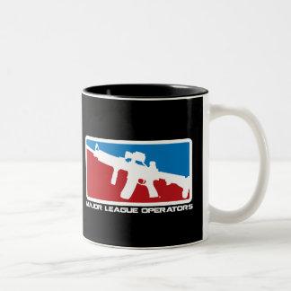 Bedeutende Liga-Betreiber-Tasse Zweifarbige Tasse
