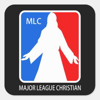 Bedeutende Liga christlich - MLC Quadratischer Aufkleber