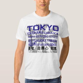 Bedeutende Städte Japans Hemden