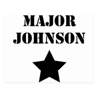 Bedeutendes Johnson Postkarte
