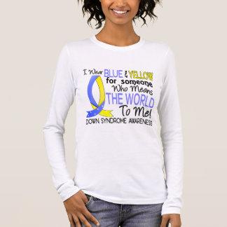 Bedeutet die Welt zu mir Down-Syndrom Langarm T-Shirt
