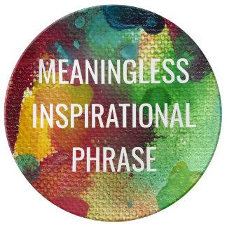 Bedeutungslose inspirierend Phrase Teller