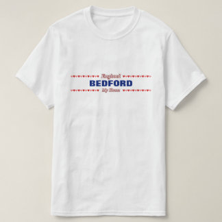 BEDFORD - mein Zuhause - England; Rote u. rosa T-Shirt