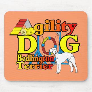 Bedlington_Terrier_Agility Mauspad